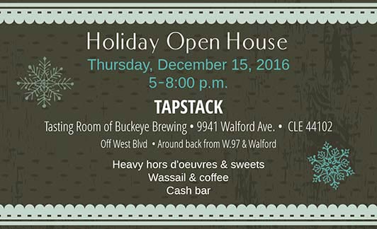Holiday Open House 12/15/16