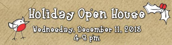 Holiday Open House 12/11