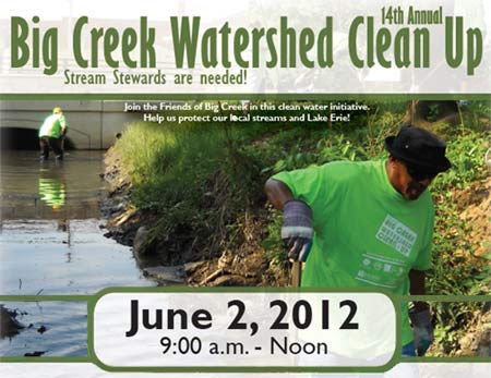 Big Creek Watershed Clean Up June 2