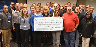 GM Foundation donation to Community Partners